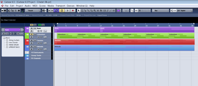 How to compose video game music in a DAW